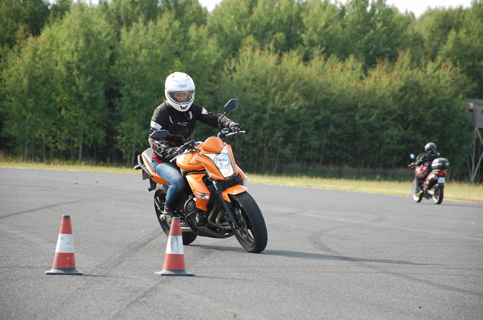 Doskonalenie techniki jazdy motocyklem